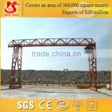 From manufacturing supplier, MH model single girder truss type yard use heavy duty gantry crane