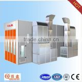 CE approved standard infrared used bus spray booth for sale (professional factory ,customized service)