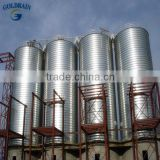 Supplying ssemble bolted excellence wheat storage silo