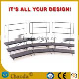 Portable choral risers stages platform for sale                                                                         Quality Choice