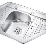 SC-D06 304 SS triangle kitchen sink