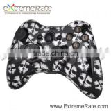 White Skull Replacement Shell For Xbox 360 Controller Housing With Full Set Complete Button Kits