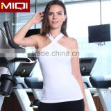 Newest style custom fashionable fitness wear active apparel women yoga tank top