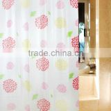 Latest Hot Selling Cheap Peach Shower Curtain