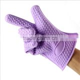 Promotional waterproof silicone oven gloves,heat resistant silicone oven gloves,silicone oven gloves for housing use