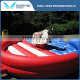 Most popular inflatable sports games mechanical rodeo bull parts for sale