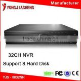 wholesale CCTV products dvr h264 cms free software CCTV 32ch NVR system real time recorder 8 hard disk