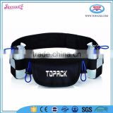 marathon race hydration pack run belt with zipper