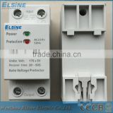60A Automatic household over and under voltage protector device