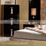 JB17-04 Chest of Drawers with Solid Wooden Corner Cabinet Design Custom Cabinets Bedroom from JL&C Luxury Home Furniture