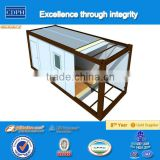 Prefabricated container house, used as portable homes, container office and living containers
