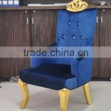 Elegant wooden classical throne chairs (NY1975)