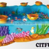 indoor Water Circulation System Musical Funny Go Fishing Pool Small Amusement Pond