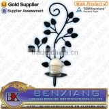 Flower model Candle Holder Wrought Iron Wedding Centerpieces candlestick