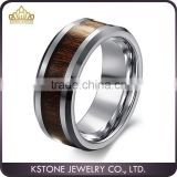 KSTONE High Quality Tungsten Ring with Carbon Fiber ,Tungsten Engagement Rings,Tungsten Carbide Wedding Ring
