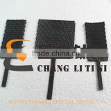 sewage treatment used lead oxide coated titanium anode