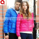 Adult Fashion Design Brand Cute Down Wear Love Couple Hoodie Jacket for Lovers, Couple Clothes Down Jacket for the Winter