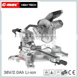 2016 New Arrival Lithium Sliding Miter Saw With 185mm Blade GT-MS185L