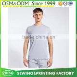 Cheap price mens sports fitness running t shirts mens short sleeves bodybuilding dry fit sport t-shirts