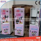 2015new indoor games arcade ATM ticket vending coin making machine,currency exchanger machine