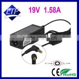 30W 19V 1.58A laptop adapter with 5.5*1.7mm connector power supply for Acer Aspire one 10.1'' 8.9'' notebook charger