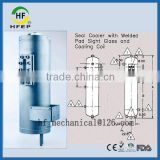 HF30011 Stainless Steel Dual Mechanical Seal Barrier Fluid Tank Reservoir Vessel