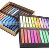 Top selling 6/12/24/36 colors per set Temporary Color Hair Chalk In Gift Tin Ready colorful hair chalk hair color