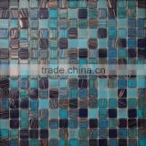 JY-G-66 High quality waterproof wallpaper bathroom tiles pictures glass mosaic for bathroom