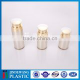 straight round dual chamber cosmetic bottle, lotion bottle, cosmetic container,2x20ml, 2x40ml, 2x60ml