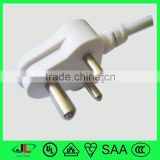 south africa retractable power cord/sabs nispt-2 power wire/sabs c13 c14 connector power cable