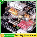 Custom Clear 3 or 5 Tier Clear Custom Acrylic Makeup Organizer You Only