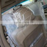 ZX brand disposable car seat cover/steer wheel cover/Auto Seat Cover used for many types of cars