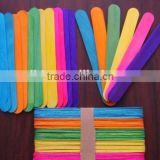 Wooden Color Ice Cream Sticks House Printed Popsicle Sticks