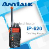 IP-620 waterproof IP-65 two way radio with big LCD+keypad