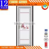 Pink Beautiful Aluminum Alloy Door Can Choose Pattern Windproof Waterproof Kitchen Cabinet Door