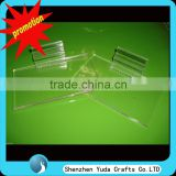 clear acrylic slatwall shelf plate clear slatwall acrylic shoe display stand slatwall tray acrylic