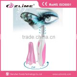 Cosmetic electric eyelash curler/battery operated heated eyelash curlers