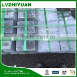 high purity 99.90% antimony lead ingot