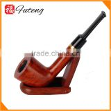 High Quality Imported Briar wood Pipe Bent Stem Classic Tobacco Pipe Smoking for Men's Collection Gifts
