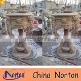 Garden antique stone flower pot molds NTMF-FP410A
