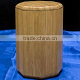 2016 Natural Solid Bamboo Cremation Ashes Urn wholesale