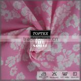 Fashion floral print infant comfortable breathable bamboo cotton fabric