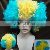Colorful party wigs wholesale synthetic brazillian hair PGW-1052