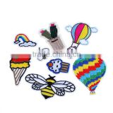Fabric Iron On Patches At Random Bee Animal Hot Air Balloon Custom Iron On Patch