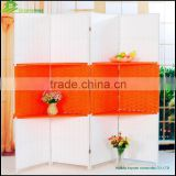 Screen partition wall for room decoration Bamboo Screen with Wood Frame restaurant decorative partition screen GVSD034