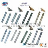 Railway Fishplate Good Quality, For 43KG Steel Rail Railway Fishplate, Railroad Fastening Railway Fishplate