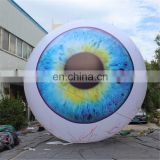 customized gaint led lighting eye ball/balloon model inflatable for advertising decoration