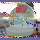 2014 New year inflatable snow bubble/snow bubble ball for X-mas