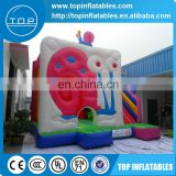 OEM giant snail inflatable bouncer combo for sale