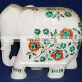 Marble Inlay Elephant, Corporate Gift